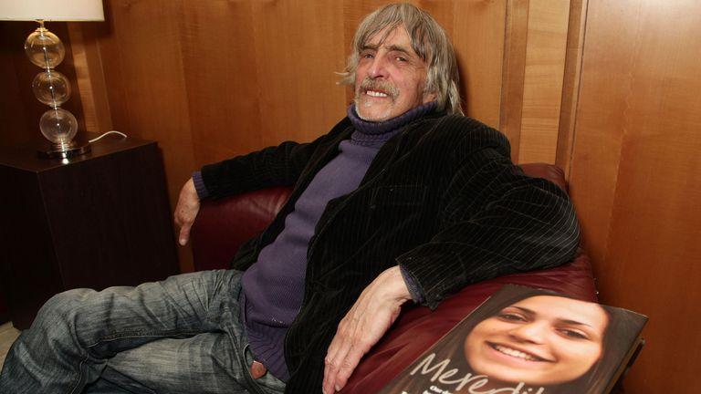 Meredith Kercher's father John Kercher in 2012