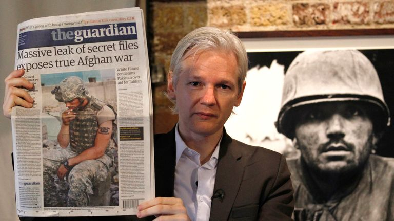 Assange's legal team blamed the leaks on a 2011 book from the Guardian newspaper about WikiLeaks