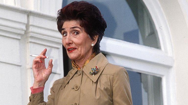 June Brown as Dot Cotton in 1997. Pic: Nils Jorgensen/Shutterstock