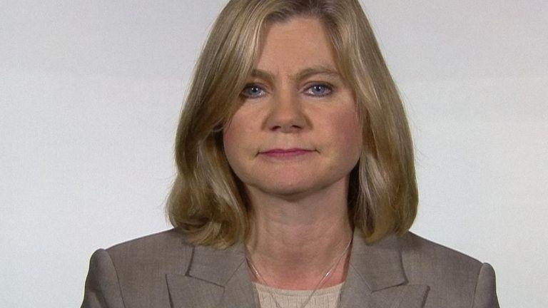 Justine Greening has some advice for Boris Johnson