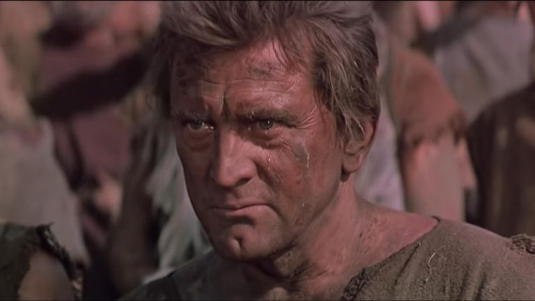 Spartacus actor Kirk Douglas has died aged 103, his son has said. Credit: Universal