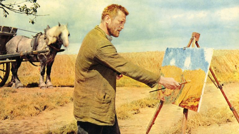 Kirk Douglas as Vincent van Gogh in the film Lust For Life, 1956. Pic: Glasshouse Images/Shutterstock