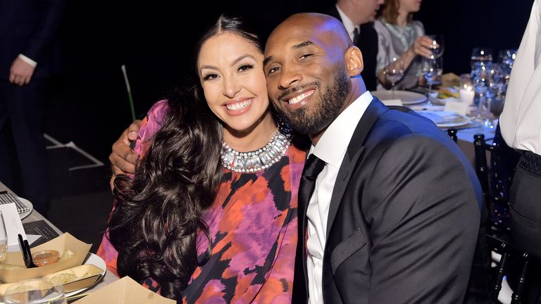 Vanessa and Kobe Bryant married in 2001
