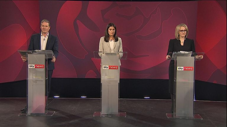 Sky News hosts the Labour leadership debate