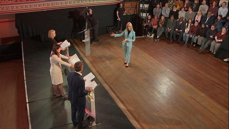 Labour candidates spar over antisemitism
