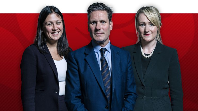 Sir Keir Starmer, Lisa Nandy and Rebecca Long-Bailey are bidding to be the next Labour leader