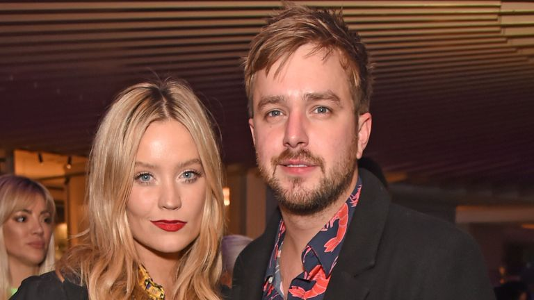 Whitmore says she was with Iain Stirling for the first time since Caroline's death