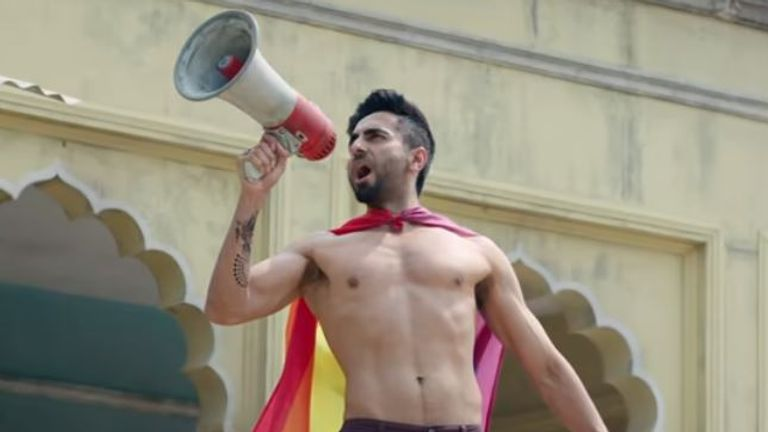 The film features a gay male lead character. Pic: T-Series