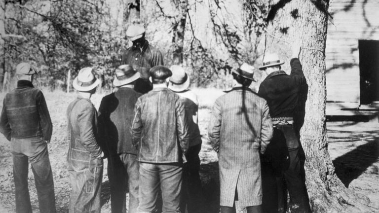 The lynching of Ab Young by a mob of 50 men at at Slayden, Mississippi in March 1935
