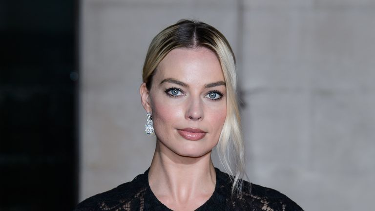 LONDON, ENGLAND - FEBRUARY 02: Margot Robbie attends the EE British Academy Film Awards 2020 After Party at The Grosvenor House Hotel on February 02, 2020 in London, England. (Photo by Joe Maher/WireImage)