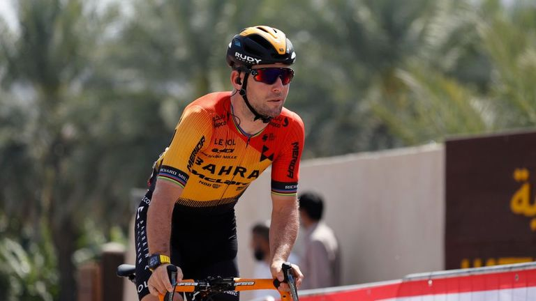 British rider Mark Cavendish was also competing in the race