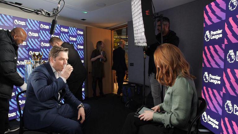 The new Premier League chief sat down with Sky's Martha Kelner