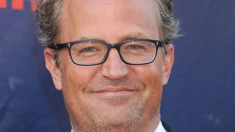 Matthew Perry played Chandler Bing in Friends