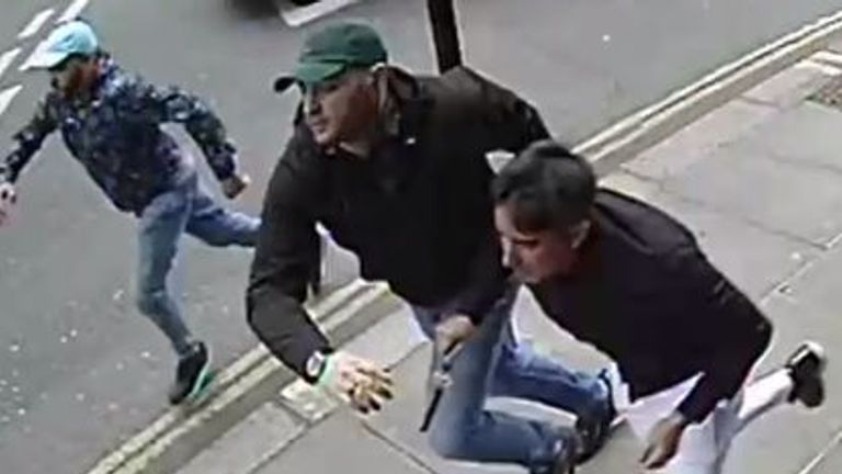 Mayfair attack suspects