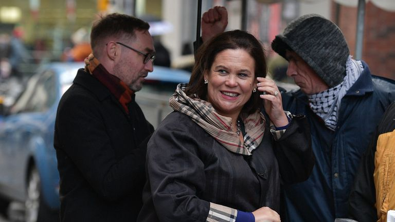 Sinn Fein's  Mary Lou McDonald says she could be the next Ireland prime minister