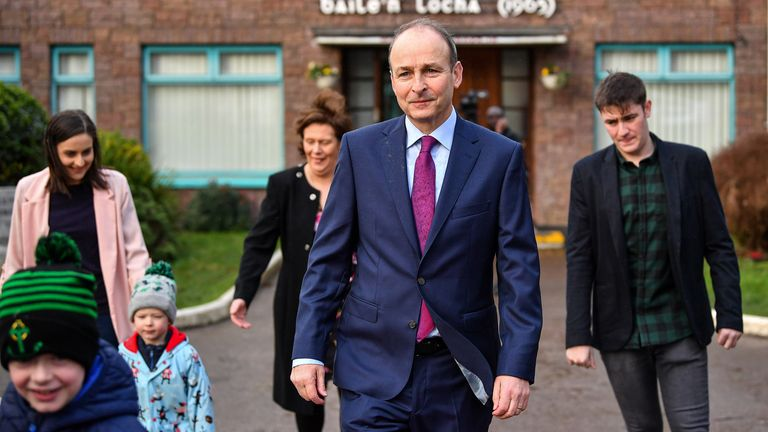 Michael Martin of Fianna Fail