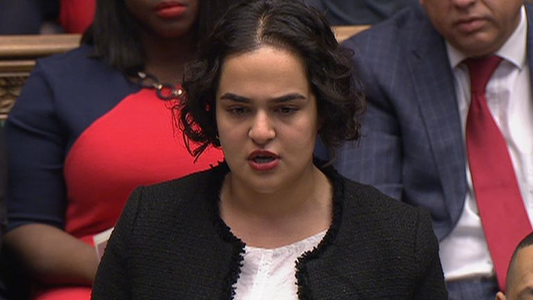 Nadia Whittome called for the flight to be delayed until the Windrush lessons learned review is published