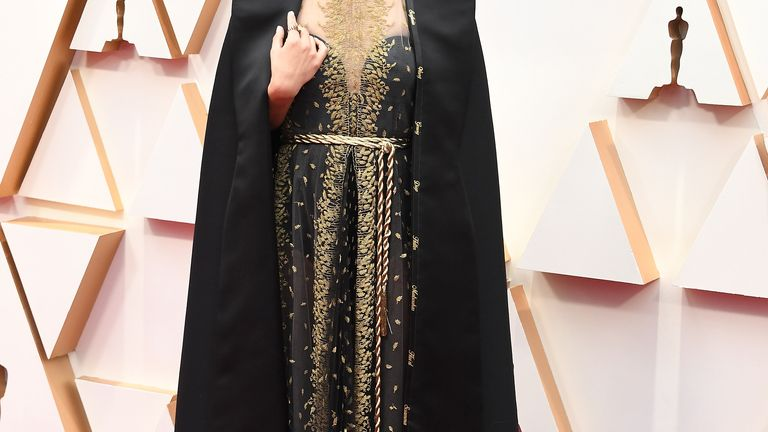 HOLLYWOOD, CALIFORNIA - FEBRUARY 09: Natalie Portman arrives at the 92nd Annual Academy Awards at Hollywood and Highland on February 09, 2020 in Hollywood, California. (Photo by Steve Granitz/WireImage)
