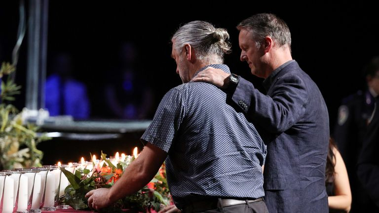 Tributes paid to the victims of bushfires