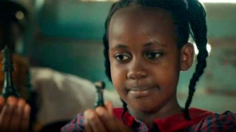 Nikita Pearl Waligwa starred in the Disney film Queen of Katwe. Pic: Disney