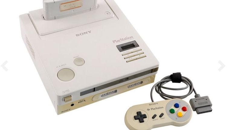 The Nintendo PlayStation never entered production. Pic: Heritage Auctions