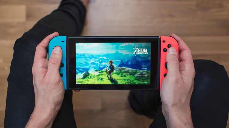 The hacker used released information about the Nintendo Switch console. File pic