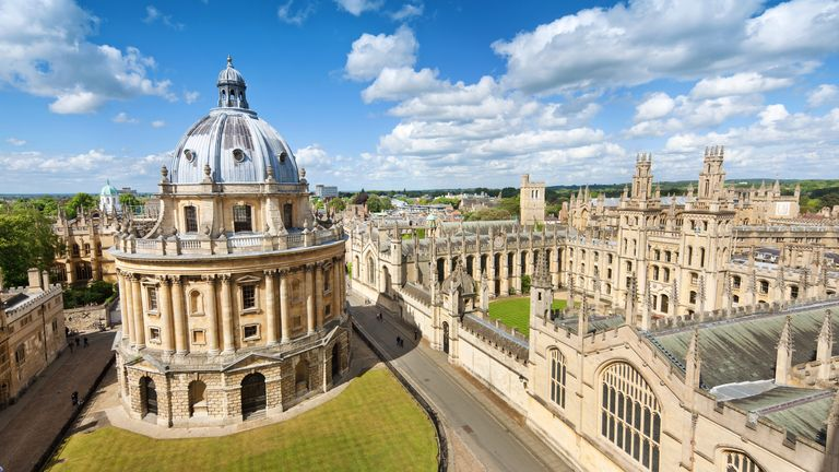 The University of Oxford's Classics department said fewer students are studying ancient Greek and Latin before they come up