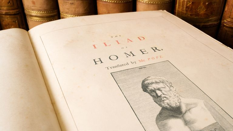 Homer's Iliad is an ancient Greek epic poem set during the Trojan War