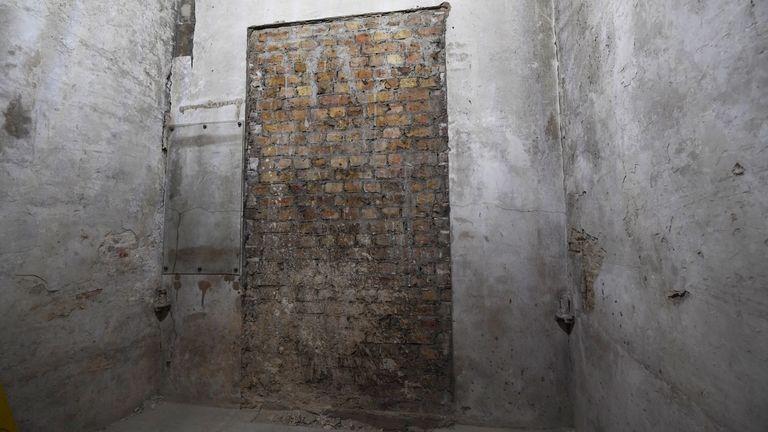 A secret doorway has been found in parliament