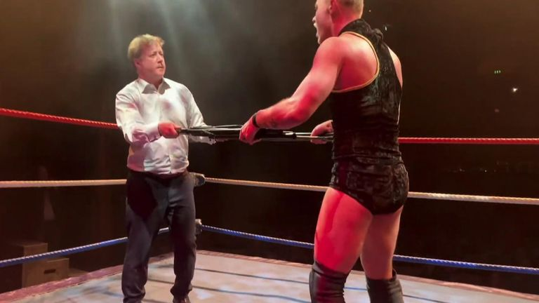 Tory MP reveals why he took on 'loud mouth bully' in wrestling ring