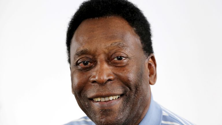 Pele pictured in 2016