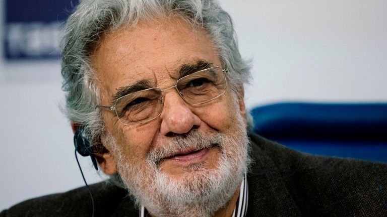 Placido Domingo, seen in 2019, has faced accusations from dozens of women