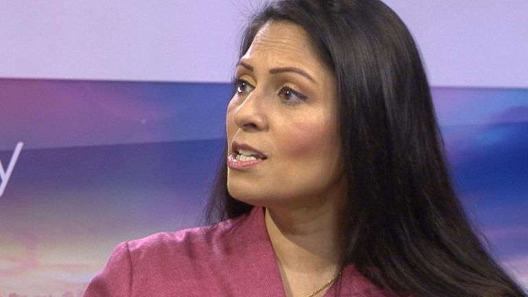 Priti Patel says over eight million people are economically inactive