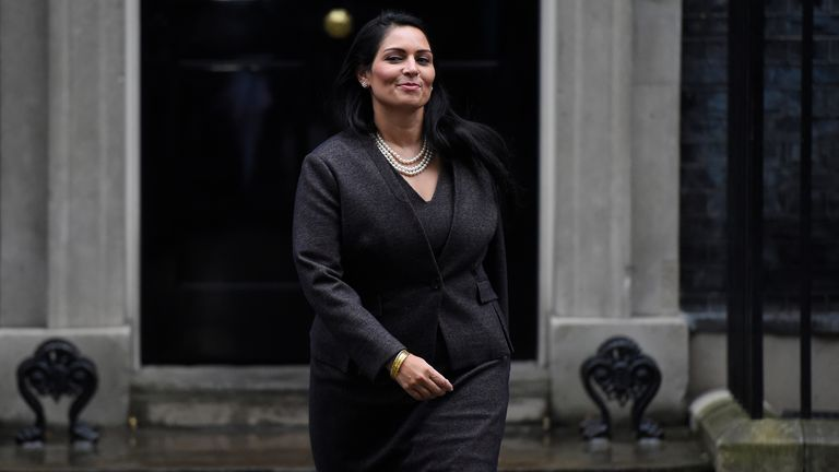 Home Secretary Priti Patel is facing claims of 'shouting and swearing, belittling people' at the Home Office