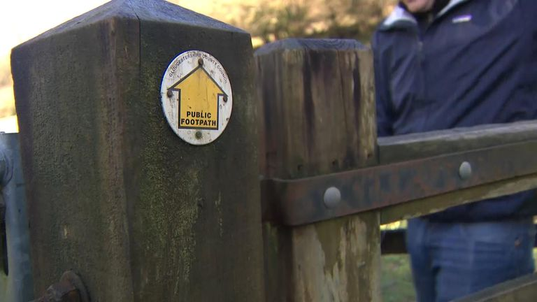 Ramblers has created an online mapping site for footpaths