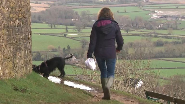Walkers are being urged to register thousands of miles of public footpaths