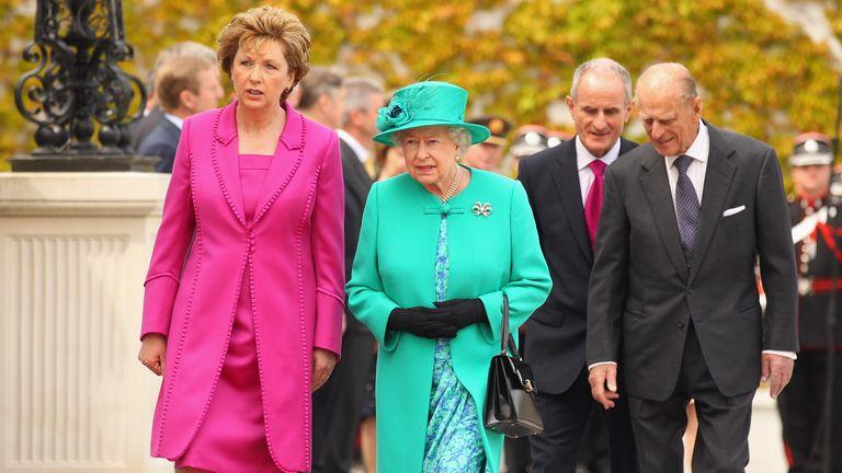 Queen visited Ireland in 2011