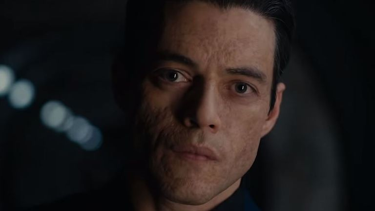 Rami Malek plays the villain of the piece - Safin