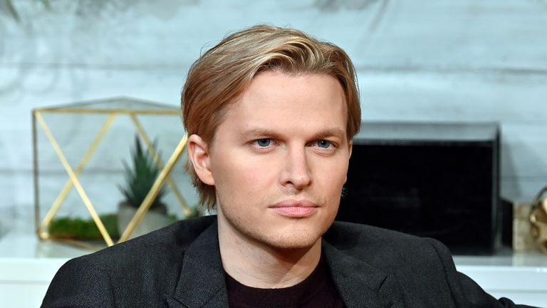 "NEW YORK, NY - OCTOBER 15: (EXCLUSIVE COVERAGE) Pulitzer Prize-winning investigative journalist Ronan Farrow visits BuzzFeed's ""AM To DM"" to discuss his book ""Catch And Kill"" on October 15, 2019 in New York City. (Photo by Slaven Vlasic/Getty Images)"