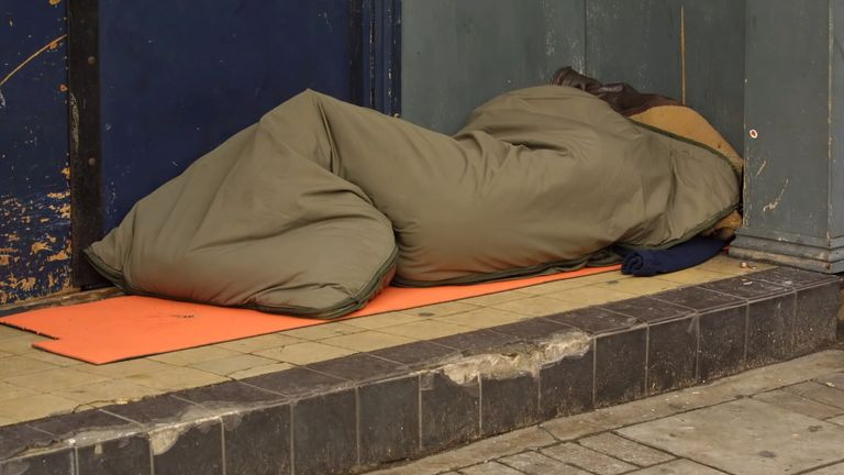 rough sleeping (File pic)