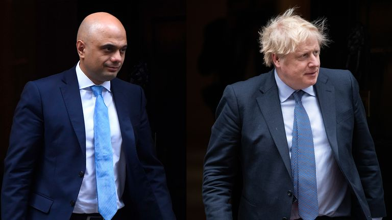 Sajid Javid quit as chancellor yesterday