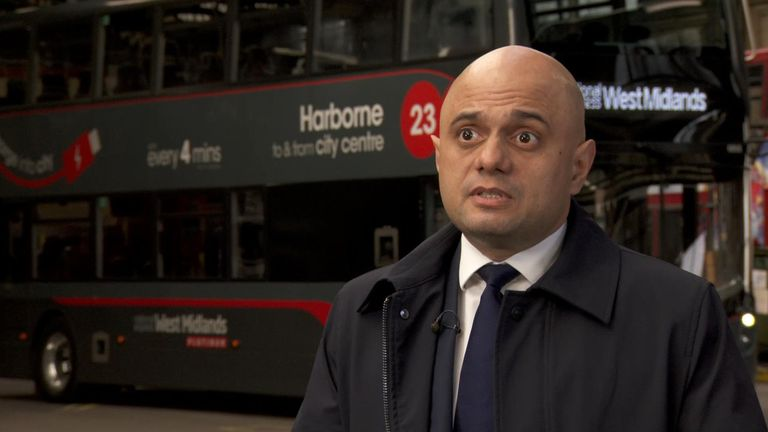 Sajid Javid downplayed Britain's low economic growth figures, saying that 'deadlock has ended' since the general election