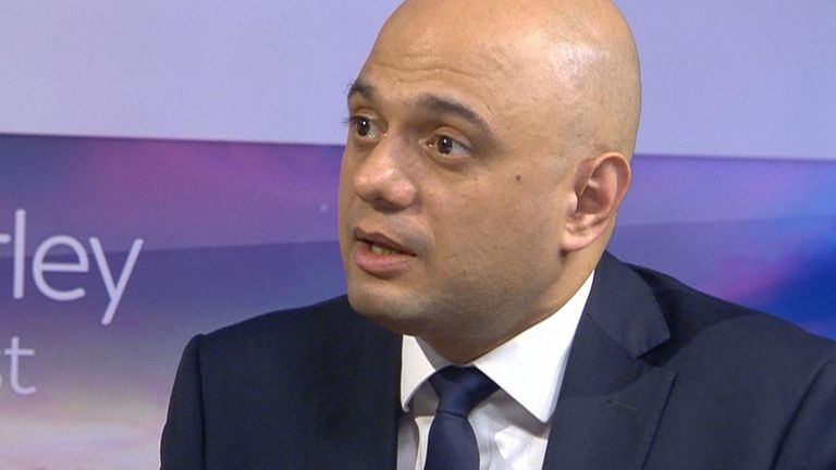 Sajid Javid adamant that foreign criminals will be deported