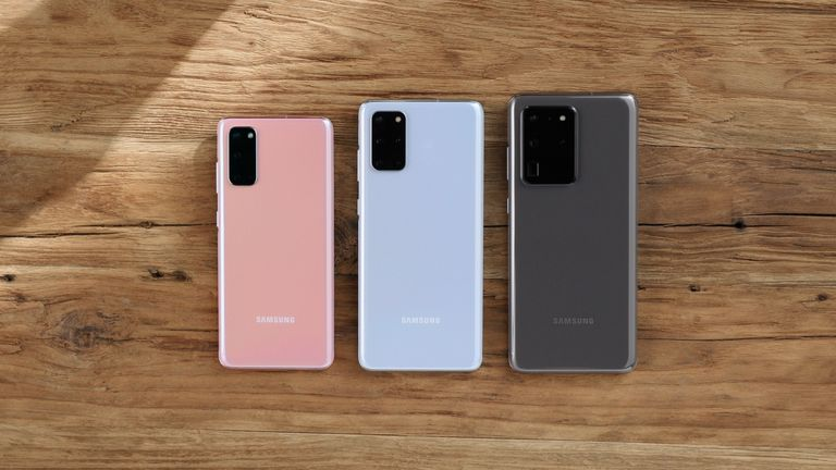 The phones are available in pastel pink, blue, gray and charcoal black