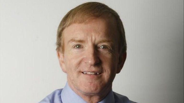 Simon Warr has died aged 65. Pic: @bbcsimonwarr