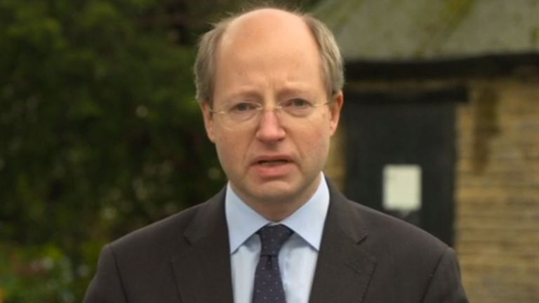 Sir Philip Rutnam fought back tears as he announced his resignation, accusing Home Secretary Priti Patel of creating an atmosphere of 'fear' at the Home Office