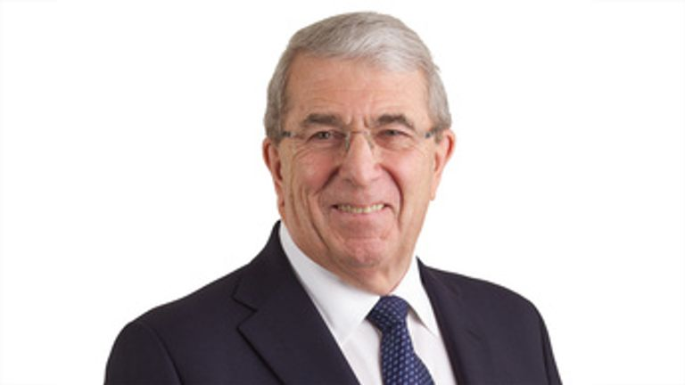 Sir Roger Carr was knighted in 2011. Pic: BAES