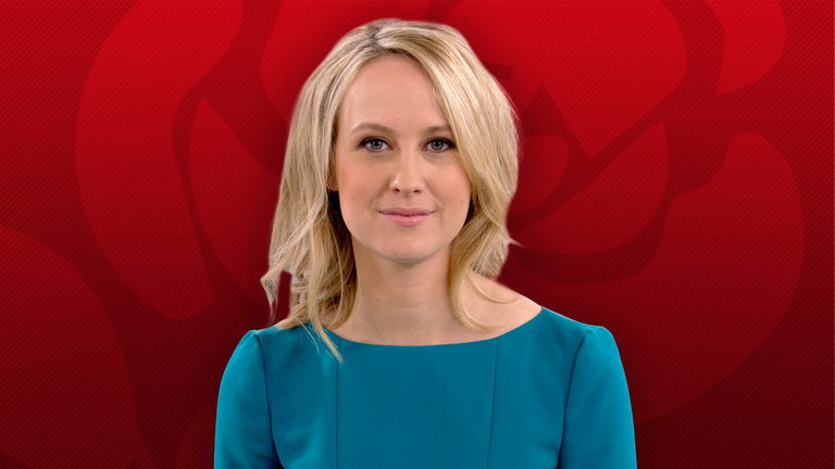 Graphic for hero image of article on Labour TV debate presented by Sophy Ridge