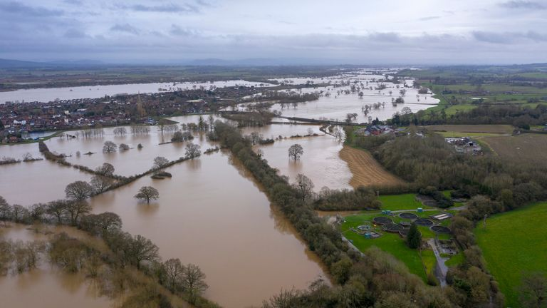 The government has faced criticism over its response to the floods
