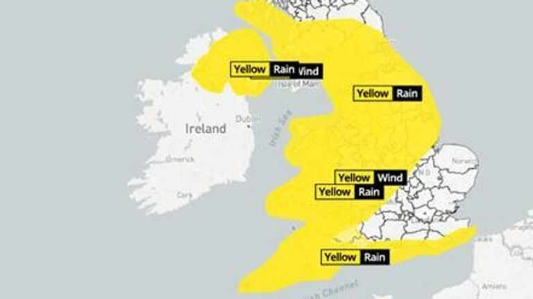 Storm Jorge will hit this weekend